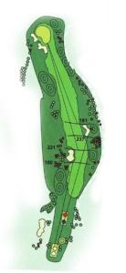 Golf Los Lagos Hoyo 1