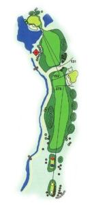 Golf Los Lagos Hoyo 10