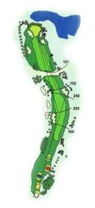 Golf Los Lagos Hoyo 13