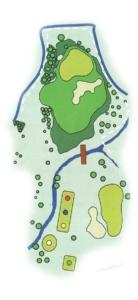 Golf Los Lagos Hoyo 16