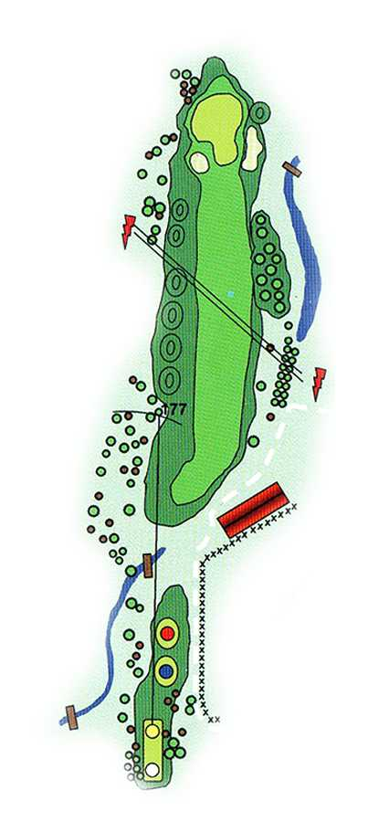 Golf Los Lagos Hoyo 17