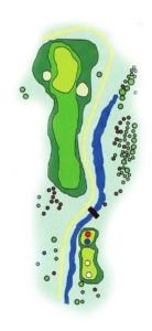 Golf Los Lagos Hoyo 18
