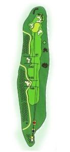 Golf Los Lagos Hoyo 2