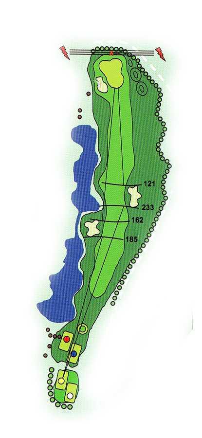Golf Los Lagos Hoyo 3
