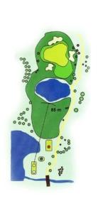 Golf Los Lagos Hoyo 5