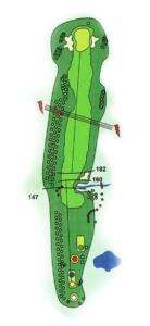 Golf Los Lagos Hoyo 6