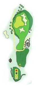 Golf Los Lagos Hoyo 8