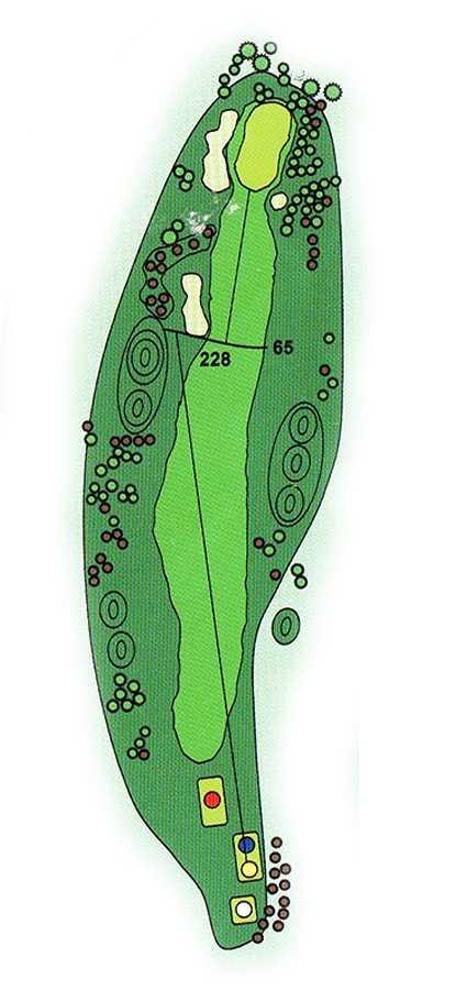 Golf Los Lagos Hoyo 9